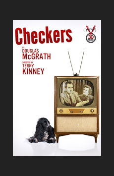 Checkers, Vineyard Theatre, NYC Show Poster