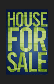 House For Sale, Duke at 42nd Street, NYC Show Poster