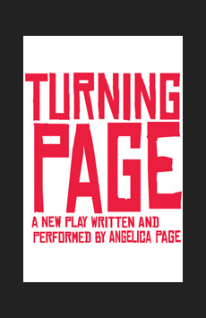 Turning Page, Cherry Lane Theatre, NYC Show Poster