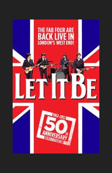 Let It Be,, NYC Show Poster