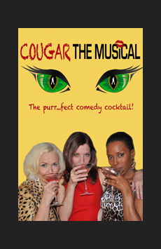Cougar the Musical, St. Luke's Theatre, NYC Show Poster