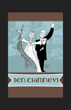 Ten Chimneys, Theatre at St. Clement's, NYC Show Poster