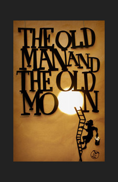 The Old Man and the Old Moon, The Gym at Judson Memorial Church, NYC Show Poster