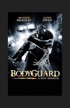 The Bodyguard,, NYC Show Poster