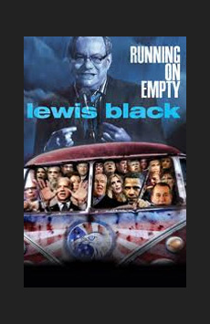 Lewis Black: Running on Empty, Richard Rodgers Theatre, NYC Show Poster
