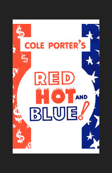 Red, Hot and Blue, The Lion Theatre (Theatre Row), NYC Show Poster