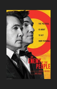 An Enemy of the People, Samuel J Friedman Theatre, NYC Show Poster