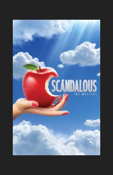 Scandalous, Neil Simon Theatre, NYC Show Poster