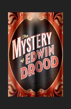 The Mystery of Edwin Drood, Studio 54, NYC Show Poster