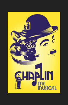 Chaplin, Ethel Barrymore Theatre, NYC Show Poster