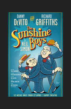 The Sunshine Boys,, NYC Show Poster