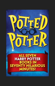 Potted Potter, Stage 42, NYC Show Poster
