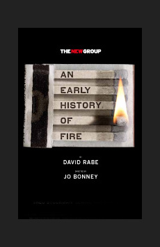 An Early History of Fire, Theatre Row/Acorn Theatre, NYC Show Poster