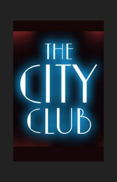 The City Club, Minetta Lane Theatre, NYC Show Poster