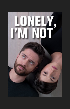 Lonely, I'm Not, Tony Kiser Theatre, NYC Show Poster