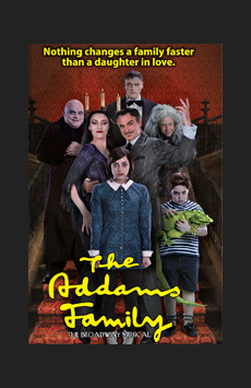 The Addams Family ,, NYC Show Poster