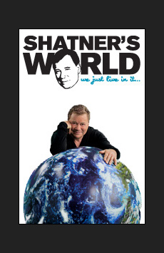 Shatner's World: We Just Live In It, Music Box Theatre, NYC Show Poster