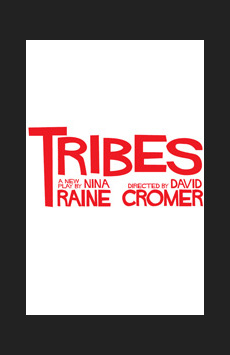 Tribes, Barrow Street Theatre, NYC Show Poster