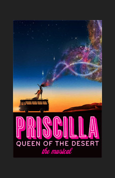 Priscilla Queen of the Desert,, NYC Show Poster