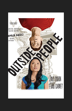 Outside People, Vineyard Theatre, NYC Show Poster