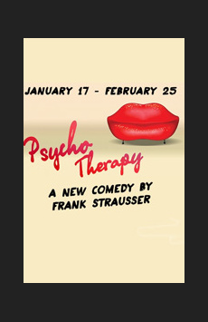 Psycho Therapy, Cherry Lane Theatre, NYC Show Poster