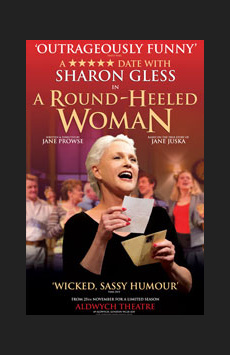 A Round-Heeled Woman,, NYC Show Poster