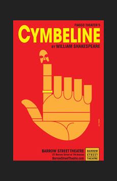 Cymbeline, Barrow Street Theatre, NYC Show Poster