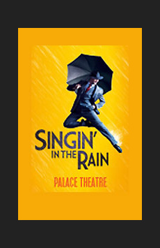 Singin' in the Rain,, NYC Show Poster