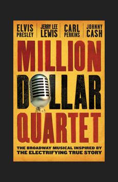 Million Dollar Quartet,, NYC Show Poster