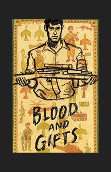 Blood and Gifts, Mitzi E. Newhouse Theater, NYC Show Poster