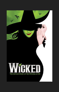 Wicked , Gershwin Theatre, NYC Show Poster