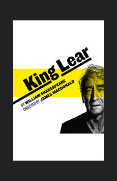 King Lear, Joseph Papp Public Theater/Newman Theater, NYC Show Poster