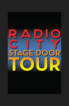 Radio City Stage Door Tour, Radio City Music Hall, NYC Show Poster