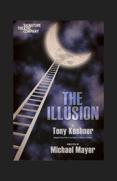 The Illusion, Peter Norton Space at Signature Theatre Company, NYC Show Poster