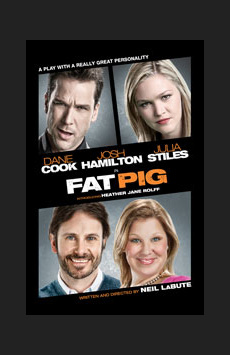 Fat Pig, Belasco Theatre, NYC Show Poster