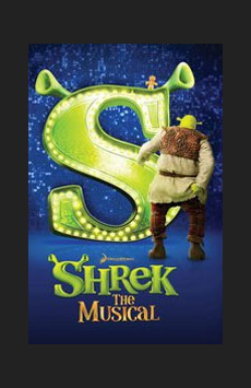 Shrek the Musical,, NYC Show Poster