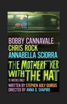 The Motherf**ker With the Hat, Schoenfeld Theatre, NYC Show Poster