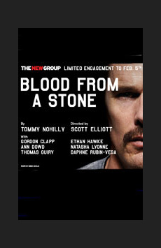 Blood From a Stone, Theatre Row/Acorn Theatre, NYC Show Poster