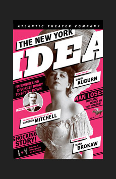 The New York Idea, Lucille Lortel Theatre, NYC Show Poster