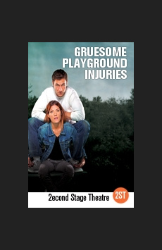 Gruesome Playground Injuries, Tony Kiser Theatre, NYC Show Poster