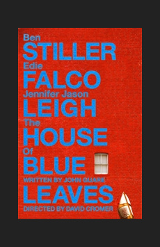 The House of Blue Leaves, Walter Kerr Theatre, NYC Show Poster