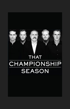 That Championship Season, Bernard B. Jacobs Theatre, NYC Show Poster