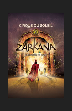 Zarkana, Radio City Music Hall, NYC Show Poster