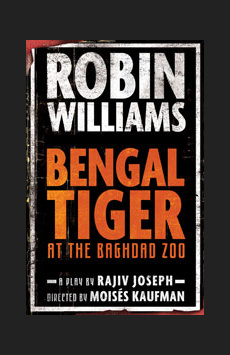 Bengal Tiger at the Baghdad Zoo,, NYC Show Poster