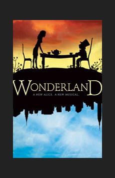Wonderland, Marquis Theatre, NYC Show Poster