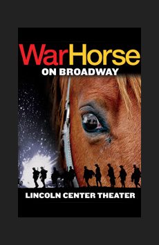 War Horse, Vivian Beaumont Theater, NYC Show Poster