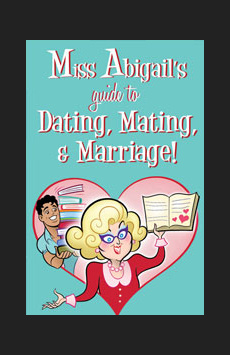 Miss Abigail's Guide to Dating, Mating and Marriage, The Downstairs Lounge at Sofia's, NYC Show Poster