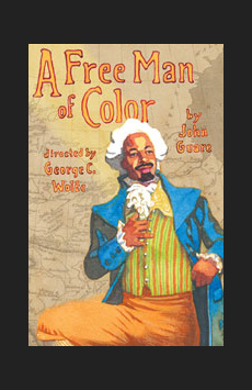 A Free Man of Color,, NYC Show Poster