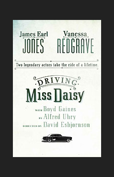 Driving Miss Daisy, John Golden Theatre, NYC Show Poster