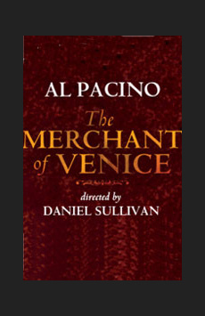 The Merchant of Venice, Broadhurst Theatre, NYC Show Poster